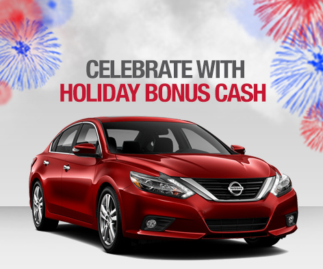 Nissan Holiday Bonus Cash At Younger Nissan of Frederick | Frederick