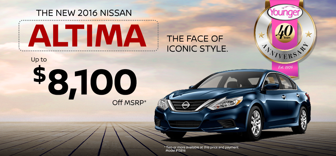 Younger Nissan October Specials | Frederick Nissan Blog